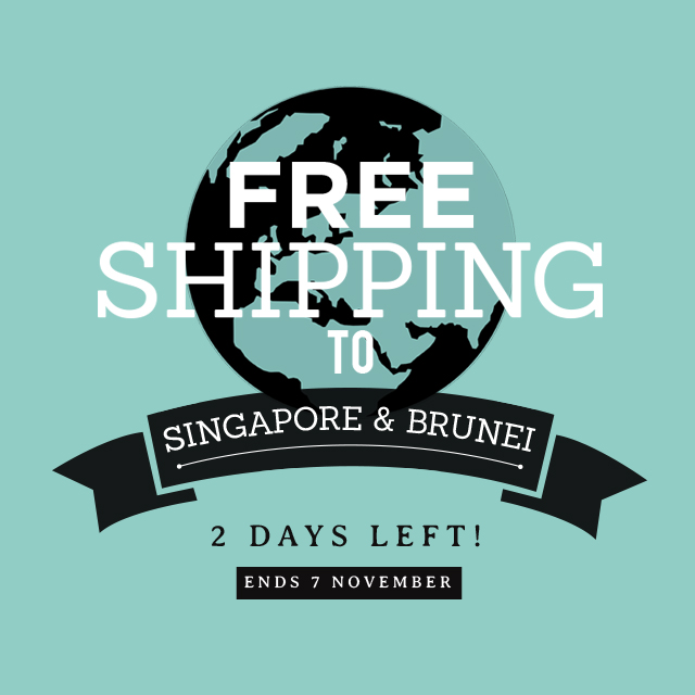 Free Shipping SporeBrunei_FBIG 2 days left