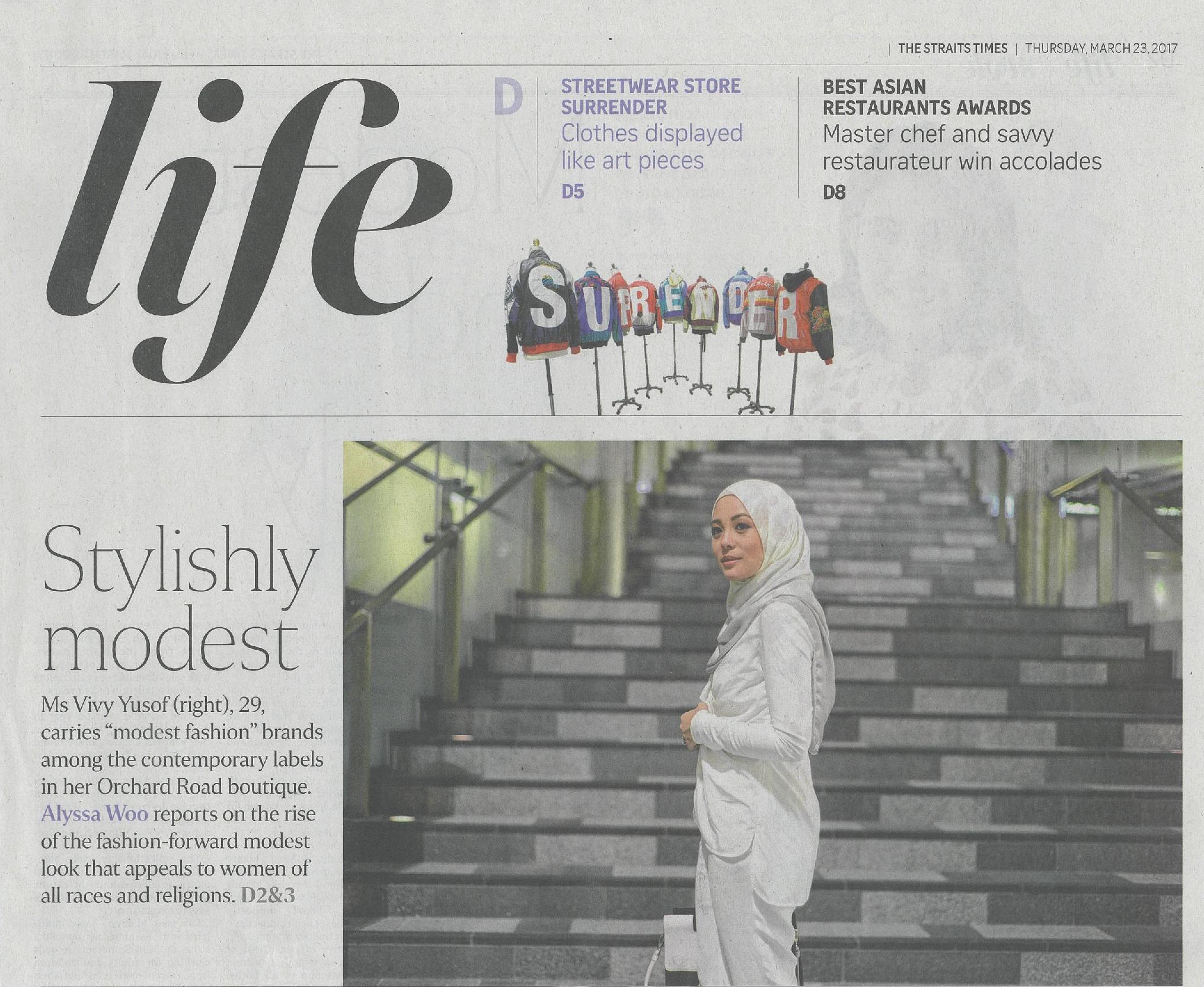 The Straits Times - March