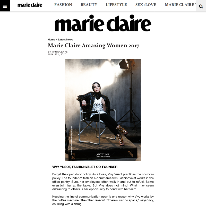 Marie Claire - August