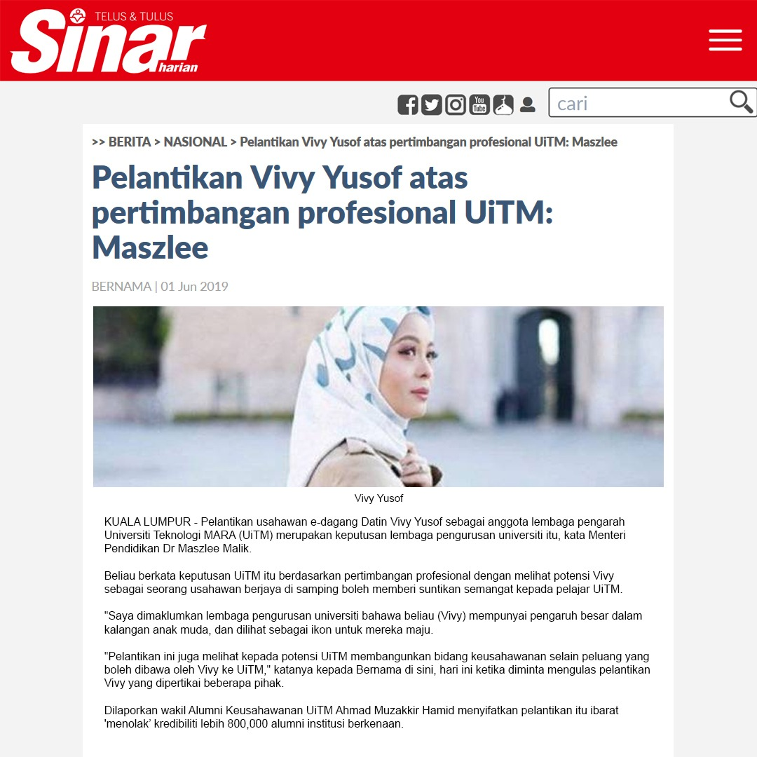 Sinar Harian - June