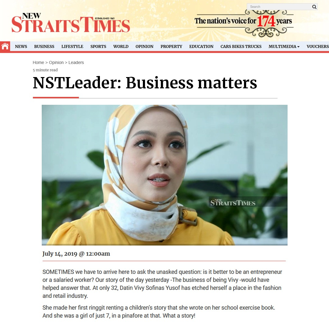 New Straits Times - July